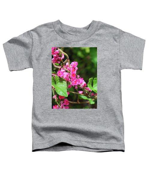 Pink Flowering Vine3 Toddler T-Shirt