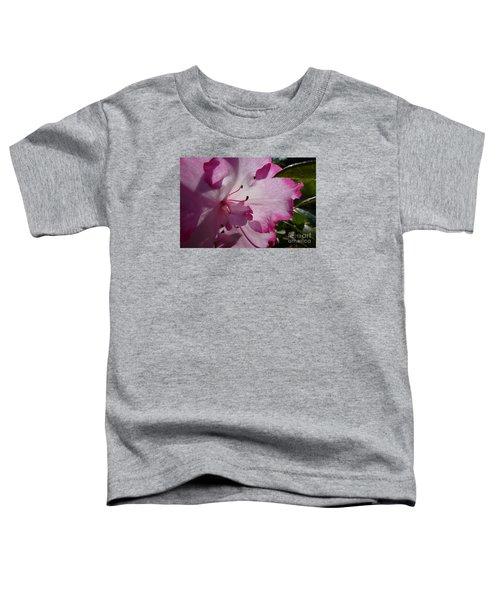 Pink Flowers 1 Toddler T-Shirt