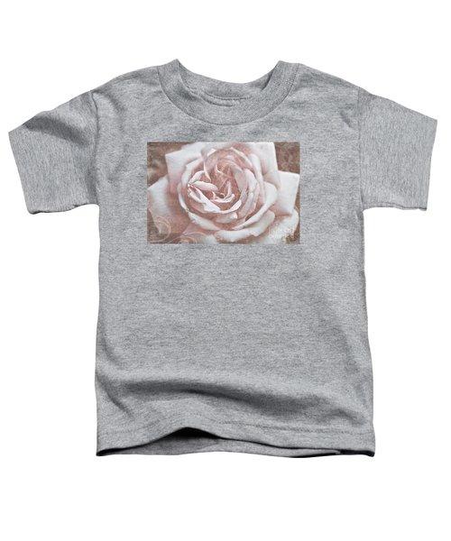 Pink Garden Rose Toddler T-Shirt