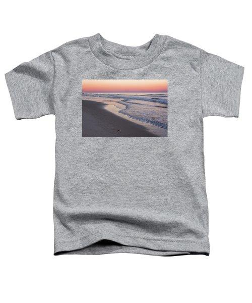 Pink Glow Seaside New Jersey 2017 Toddler T-Shirt
