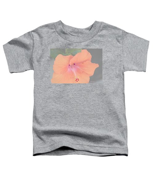 Pink Heavenly Hibiscus Toddler T-Shirt
