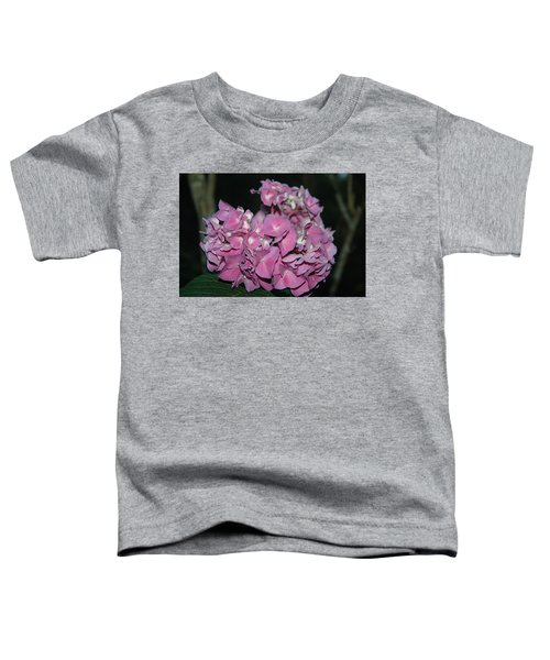 Pink Hydrangea Toddler T-Shirt