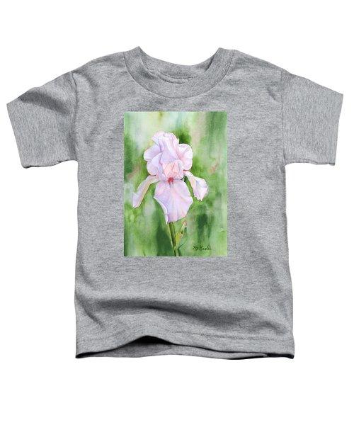 Pink Iris Toddler T-Shirt
