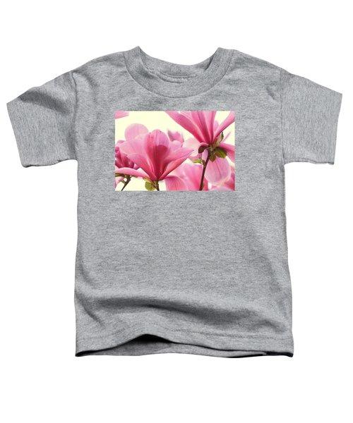 Pink Magnolias Toddler T-Shirt