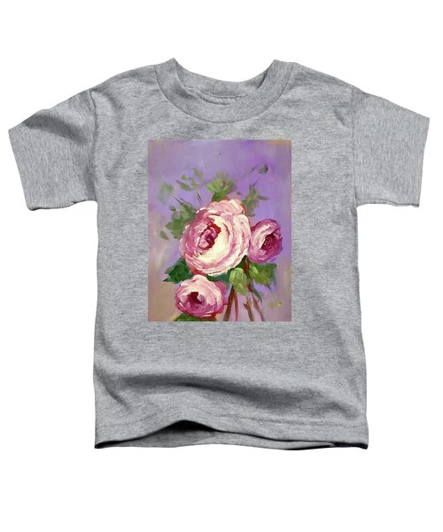 Pink Rose Toddler T-Shirt