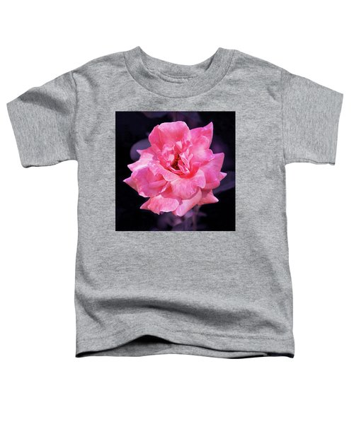 Pink Rose With Violet Toddler T-Shirt