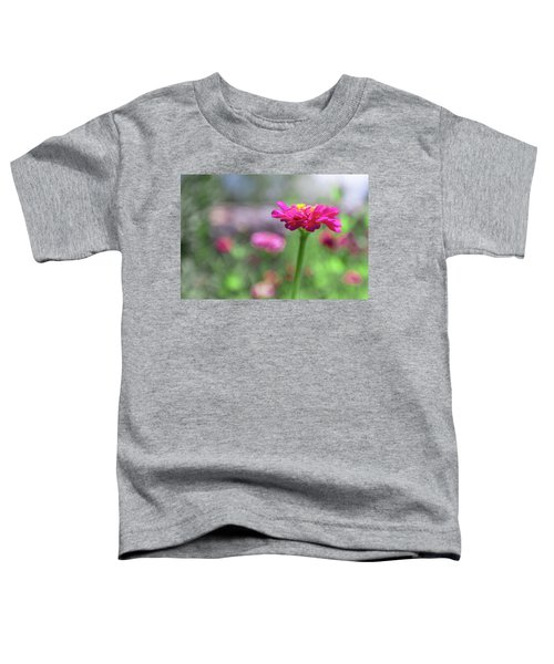 Pink Zinnia Toddler T-Shirt
