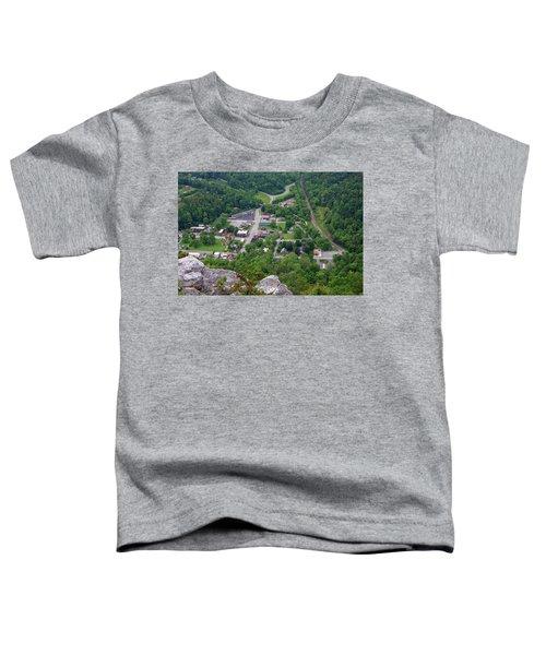 Pinnacle Overlook In Kentucky Toddler T-Shirt