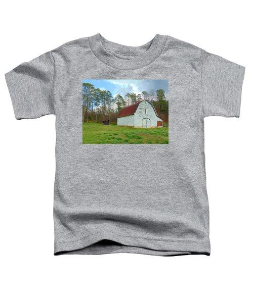 Pinson Farm Barn Toddler T-Shirt