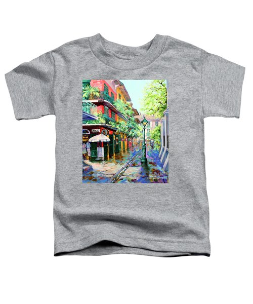 Pirates Alley - French Quarter Alley Toddler T-Shirt
