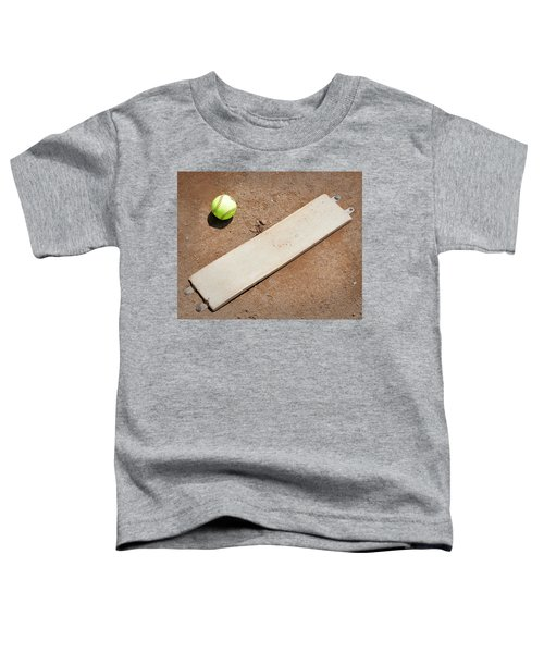 Pitchers Mound Toddler T-Shirt by Kelley King