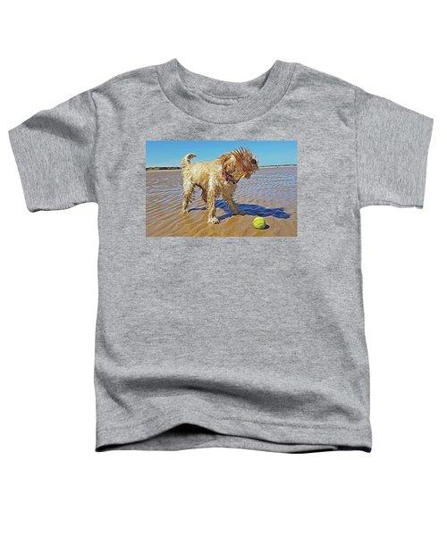 Playful Puppy Toddler T-Shirt