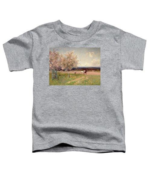 Ploughing Toddler T-Shirt