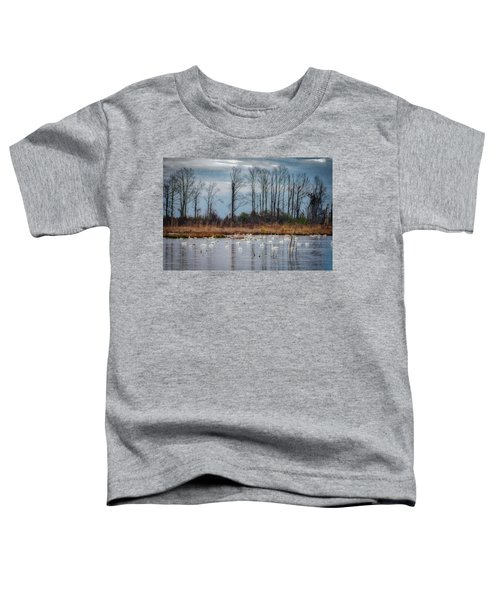 Toddler T-Shirt featuring the photograph Pocosin Lakes Nwr by Donald Brown