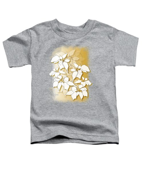 Poinsettias Toddler T-Shirt
