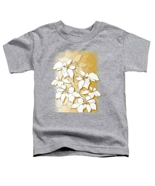 Poinsettias Toddler T-Shirt