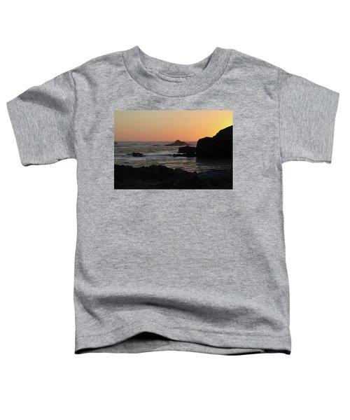 Point Lobos Sunset Toddler T-Shirt by David Chandler