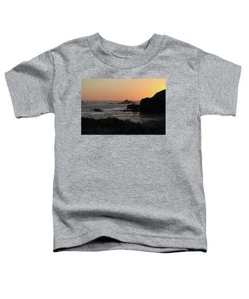 Point Lobos Sunset Toddler T-Shirt