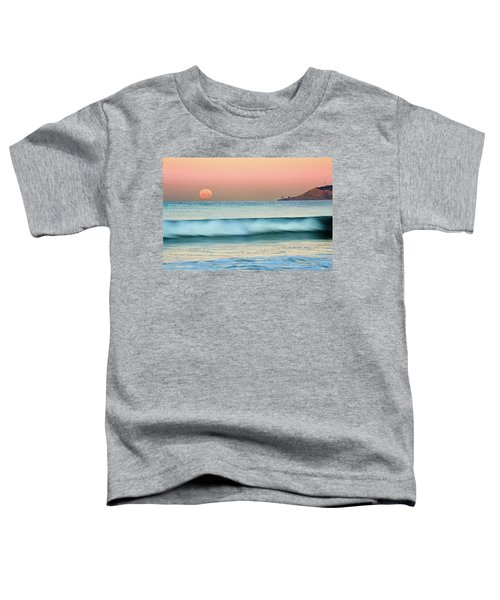 Point Loma Moonset Toddler T-Shirt