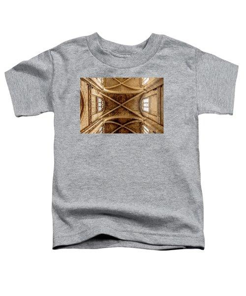 Poissy, France - Ceiling, Notre-dame De Poissy Toddler T-Shirt