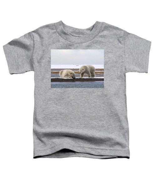 Polar Bear Zzzzzzz's Toddler T-Shirt