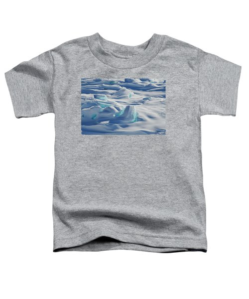 Toddler T-Shirt featuring the photograph Polar Bliss II by Doug Gibbons
