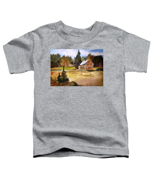Polebridge Mt Cabin Toddler T-Shirt