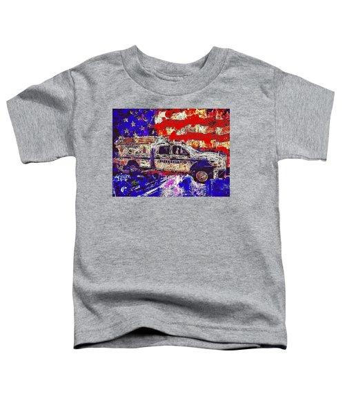 Police Truck Toddler T-Shirt