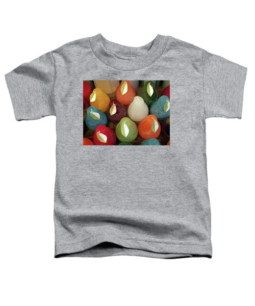 Polychromatic Pears Toddler T-Shirt
