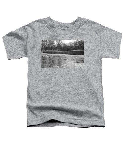 Pompton Spillway In January Toddler T-Shirt