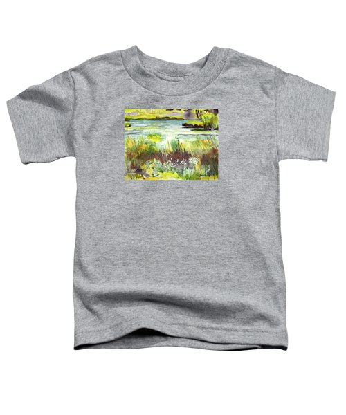 Pond And Plants Toddler T-Shirt