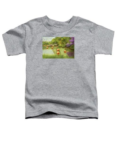 Pond At Olbrich Botanical Garden Toddler T-Shirt