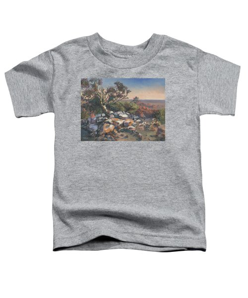 Pondering By The Canyon Toddler T-Shirt