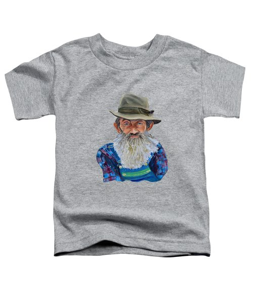 Popcorn Sutton Rocket Fuel- Transparent For T-shirt Toddler T-Shirt