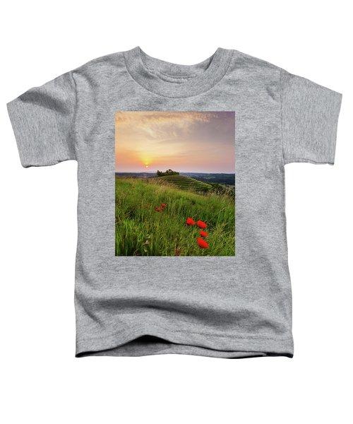 Poppies Burns Toddler T-Shirt