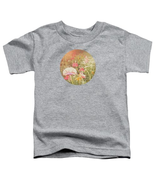 Poppies In The Light Toddler T-Shirt