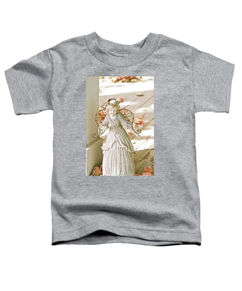 Porch Angel In The Fall Toddler T-Shirt