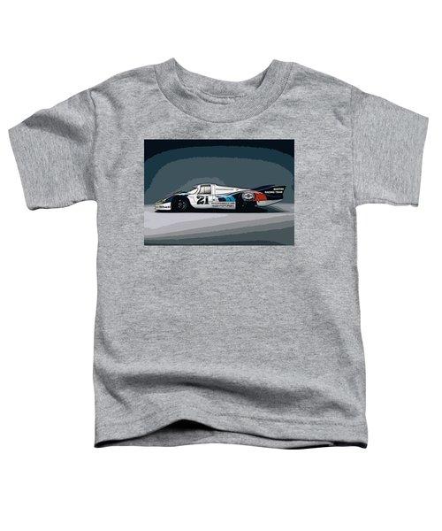 Porsche 917 Longtail 1971 Toddler T-Shirt