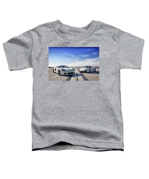 #porsche #carreragt And #918spyder Toddler T-Shirt