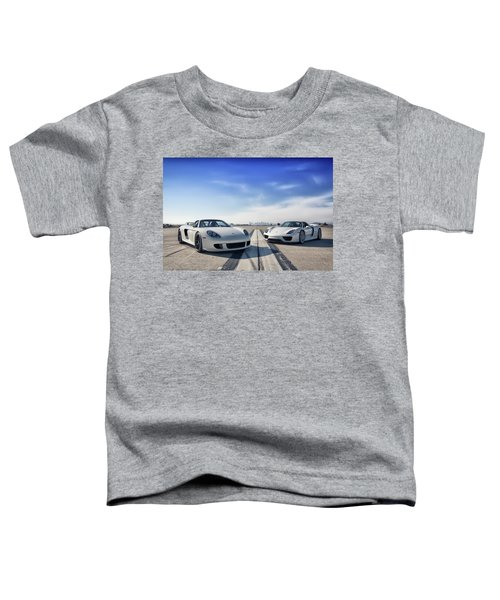 #porsche #carreragt And #918spyder Toddler T-Shirt