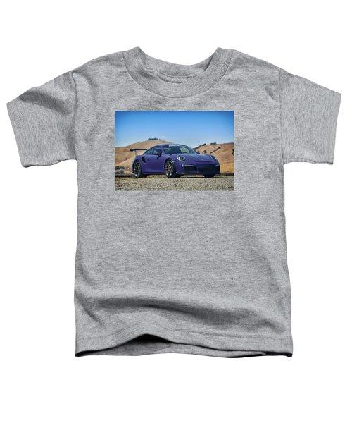 #porsche #gt3rs #ultraviolet Toddler T-Shirt