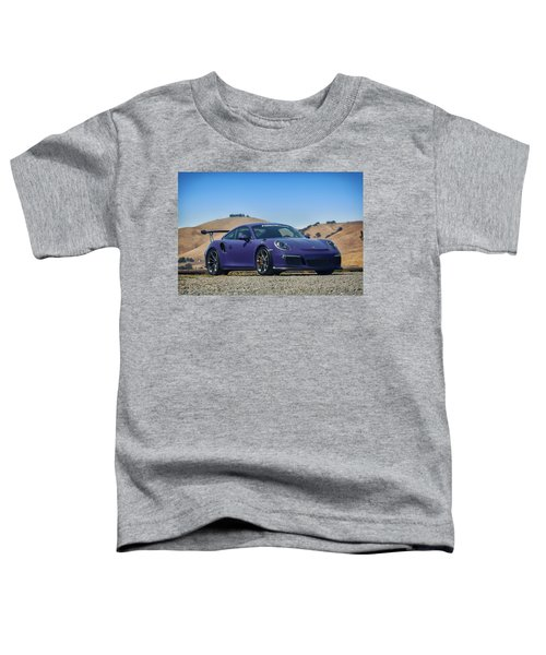 #porsche #gt3rs #ultraviolet Toddler T-Shirt