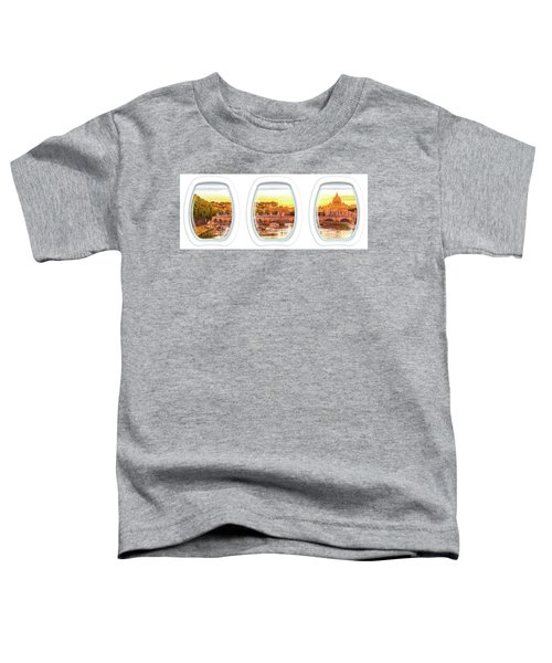 Porthole Windows On Rome Toddler T-Shirt