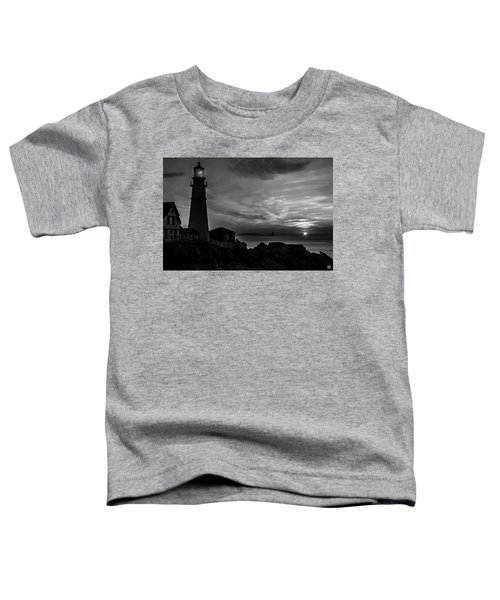 Portland Head Noir Toddler T-Shirt