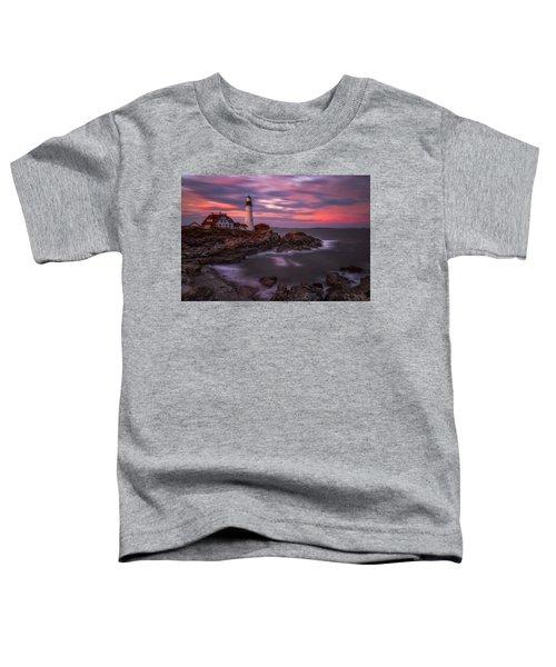 Portland Head Sunset Toddler T-Shirt