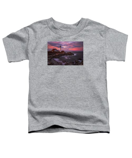 Portland Head Sunset Toddler T-Shirt