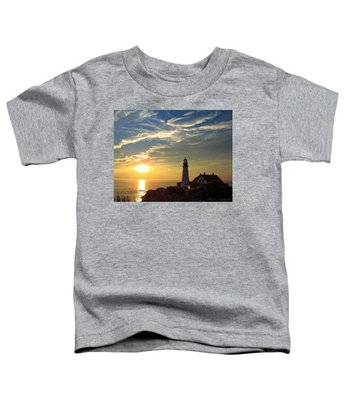 Portland Headlight Sunbeam Toddler T-Shirt
