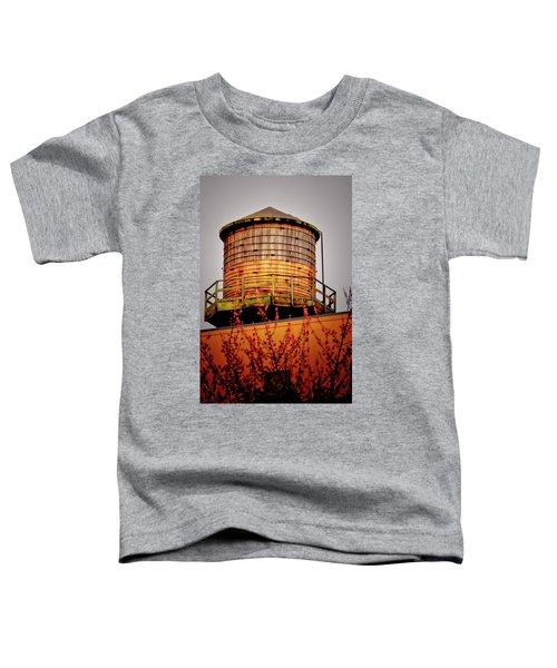 Portland Water Tower IIi Toddler T-Shirt