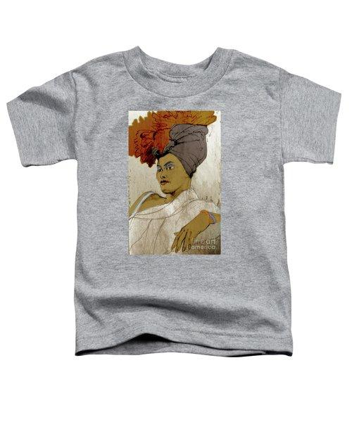 Portrait Of A Caribbean Beauty Toddler T-Shirt