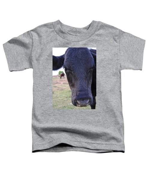 Portrait Of A Cow Toddler T-Shirt